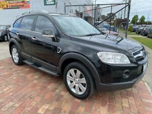 2009 Holden Captiva CG MY09.5 LX AWD Black 5 Speed Sports Automatic Wagon Bentleigh East Glen Eira Area Preview