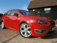 57 FORD FOCUS 2.5 ST-3 225 BHP CHILLI RED/BLACK LEATHER HTD SEATS 54KFSH AMAZING