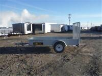 GALVANIZED UTILITY TRAILERS by Midsota **TAX IN** Ramp INCLUDED!