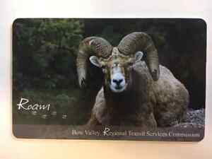 Roam Banff to Canmore Monthly pass - valid until August 7