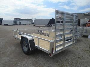 ALUMINUM TRAILERS AT DEALER PRICING - 2017 UTILITY 5 X 10 London Ontario image 3