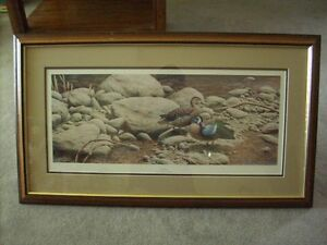 Selling Ducks Unlimited framed print Outflow Michael Dumas