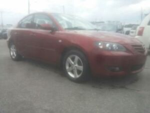2006 MAZDA3 MANUAL TOURING EDITION SUNROOF SPOILER VERY CLEAN