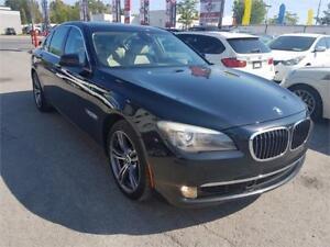 2010 BMW 750i x, 4X4, CAM, NAV, EXECUTIVE PKG, SPORT PKG, 4.4L