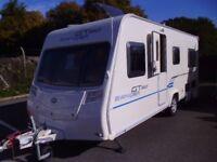 2010 Bailey Ranger 520/4 GT60 FIXED BED 4 Berth Touring Caravan.