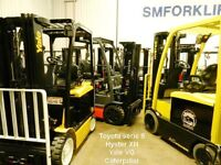 SMforklift fin de locations Yale Hyster Toyota Cat lease return