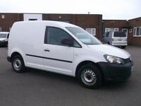 Volkswagen Caddy 1.6 TDI 75Ps VAN DIESEL MANUAL WHITE (2012)