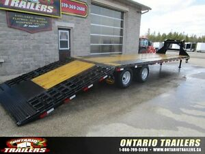 2016 Big Tex Trailers 22GN-35 FT HYDRAULIC DOVETAIL
