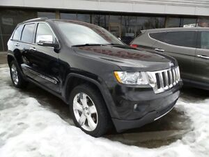2012 Jeep Grand Cherokee Overland $0 Down Financing!!!