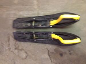 Skidoo Rev Ski's with Carbides Edmonton Edmonton Area image 1