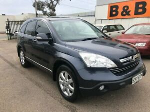 2007 Honda CR-V MY07 (4x4) Luxury Grey 5 Speed Automatic Wagon Woodville Park Charles Sturt Area Preview
