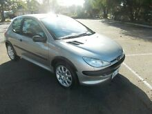 2001 Peugeot 206 XR Silver Ice 5 Speed Manual Hatchback Alberton Port Adelaide Area Preview