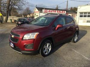 2013 Chevrolet Trax AWD/Automatic/Bluetooth/4 Cylinder/Certified