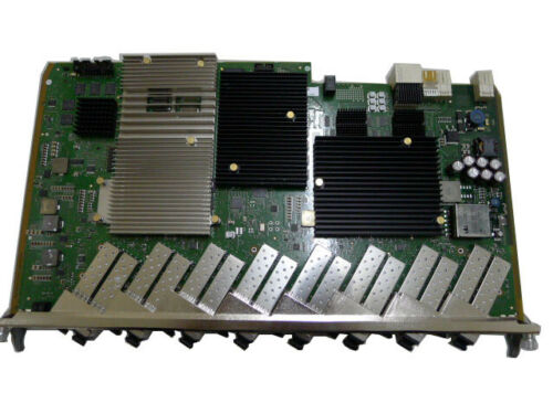 Alcatel-lucent Fpba-fglt 16 Ports Gpon Board For 7360 Etc. Olt, With 16 Sfp C+