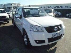 2013 Great Wall V200 K2 MY13 4x2 White 6 Speed Manual Utility Cheltenham Kingston Area Preview