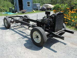 1952 Mercury/Ford Truck Rolling Chassis