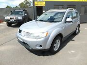 2009 Mitsubishi Outlander ZG MY09 Activ (5 Seat) Silver 6 Speed CVT Auto Sequential Wagon Werribee Wyndham Area Preview