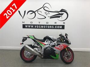 2017 Aprilia RSV 4 RF- Stock #V2758- No Payments For 1 Year**