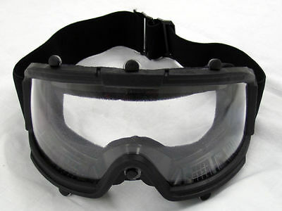 Airsoft Paintball Protective Tactical Safety Goggles Glasses Mask Black -