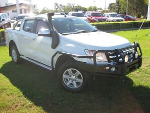 2014 Ford Ranger PX XLT 3.2 (4x4) White 6 Speed Automatic Dual Cab Utility South Grafton Clarence Valley Preview