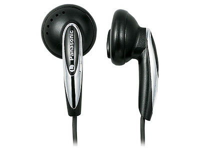 Genuine Panasonic RP-HV162 Stereo Earbud Headphones with XBS and Volume Control