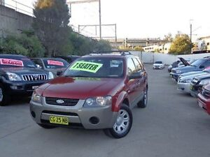 2005 Ford Territory SY TX (RWD) Burgundy 4 Speed Auto Seq Sportshift Wagon Holroyd Parramatta Area Preview