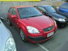 2007 Kia Rio JB LX Red 5 Speed Manual Hatchback Coopers Plains Brisbane South West Preview