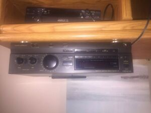 Technics 5 disc CD changer with receiver