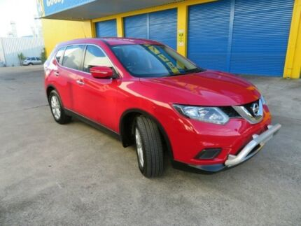 2014 Nissan X-Trail T32 ST X-tronic 2WD Burning Red 7 Speed Constant Variable Wagon
