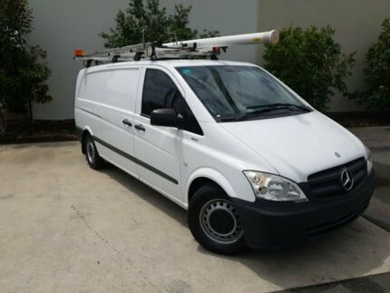 2013 Mercedes-Benz Vito 639 MY13 113CDI SWB White 5 Speed Automatic Van Robina Gold Coast South Preview