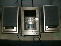 CD RADIO MICRO CENTRE - AIWA - XR-M11 includes ipod or mp3 or tablet amplifier