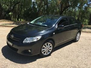 2008 Toyota Corolla ZRE152R Conquest Black 4 Speed Automatic Sedan Coonamble Coonamble Area Preview