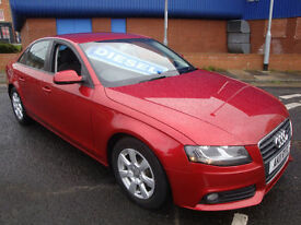 11 AUDI A4 2.0TDI ( 136ps ) £30 A YEAR ROAD TAX