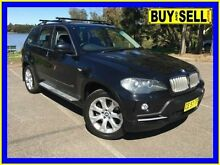 2007 BMW X5 E70 4.8I Black 6 Speed Steptronic Wagon Lansvale Liverpool Area Preview