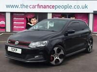 Volkswagen Polo 1.4 GTI DSG *** GOOD/BAD CREDIT CAR FINANCE *** FROM £64 P/WK **