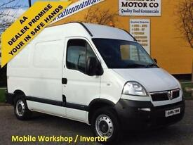 2009/ 59 Vauxhall Movano CDTi 3500 Swb High Roof [ MOBILE WORKSHOP ] Van Fwd