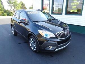 2016 Buick Encore Leather AWD for only $215 bi-weekly all in!