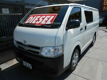 2010 Toyota Hiace KDH201R MY07 Upgrade LWB White 5 Speed Manual Van Hindmarsh Charles Sturt Area Preview