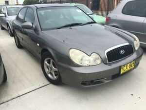 2001 Hyundai Sonata EF-B GL Grey 4 Speed Auto Selectronic Sedan Georgetown Newcastle Area Preview