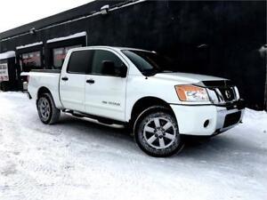 2013 Nissan Titan SV CREW CAB 4X4 5.6L V8 CAMERAS