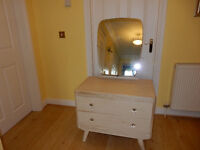 Stunning Solid Wood Shabby Chic 2 Drawer Dressing Table