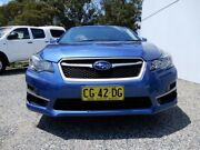 2015 Subaru Impreza G4 MY14 2.0i Lineartronic AWD Blue 6 Speed Constant Variable Hatchback Glendale Lake Macquarie Area Preview