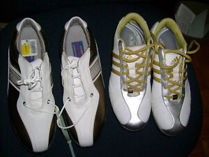 WOMENS GOLF SHOES BRAND NEW AND USED TWICE