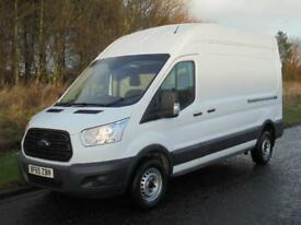 FORD TRANSIT LWB HIGH ROOF T350 L3 H3 125 RWD 2015 (65) AIR CON LOW RATE FINANCE