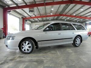 2004 Ford Falcon BA Mk II XT Silver 4 Speed Sports Automatic Wagon Welshpool Canning Area Preview