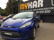 2011 Ford Fiesta WT CL Aurora Blue 5 Speed Manual Hatchback Islington Newcastle Area Preview