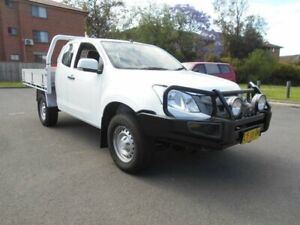 2015 Isuzu D-MAX TF MY15 SX (4x4) White 5 Speed Automatic Space Cab Chassis Bankstown Bankstown Area Preview