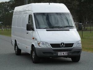2004 Mercedes-Benz Sprinter 313CDI High Roof LWB White 5 Speed Manual Van Stapylton Gold Coast North Preview