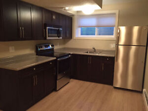 Beautiful Brand New 1 Bedroom Legal Basement Suite in West End