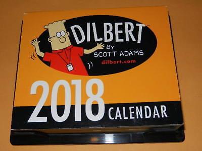New No Box Dilbert 2018 Day Calendar 18 Desk Desktop Calender 2018 18 Top